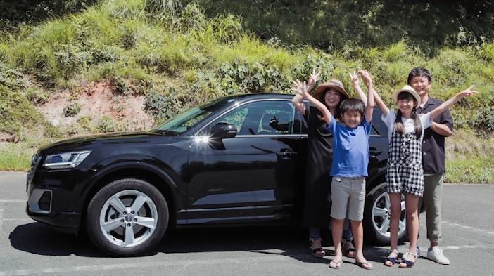 【出演情報】好本佐保 / 「Audiで行くキャニオニング・シャワークライミング」WEB-CM